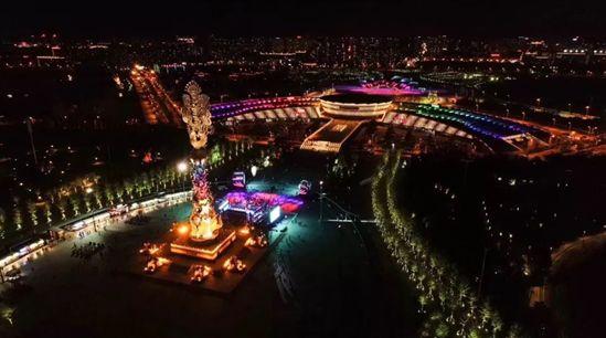 勇电照明:城市景观照明建设热潮,户外景观亮化市场不断扩大安康